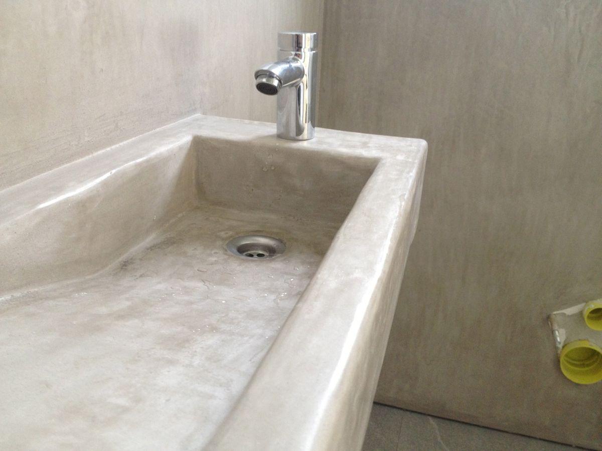 Tadelakt Waschbecken 1